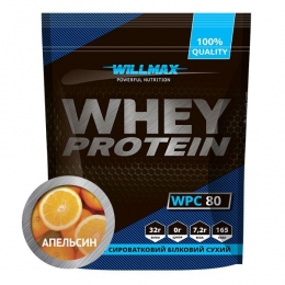 WHEY PROTEIN 80%  Апельсин 920г