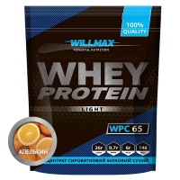 WHEY PROTEIN 65%  1кг Апельсин